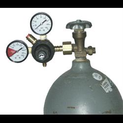 0-160 PSI CO2 Soda Regulator - 1 Cylinder Use - No Shutoff Valve