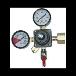 0-60 PSI CO2 Beer Regulator - 1 Cylinder Use